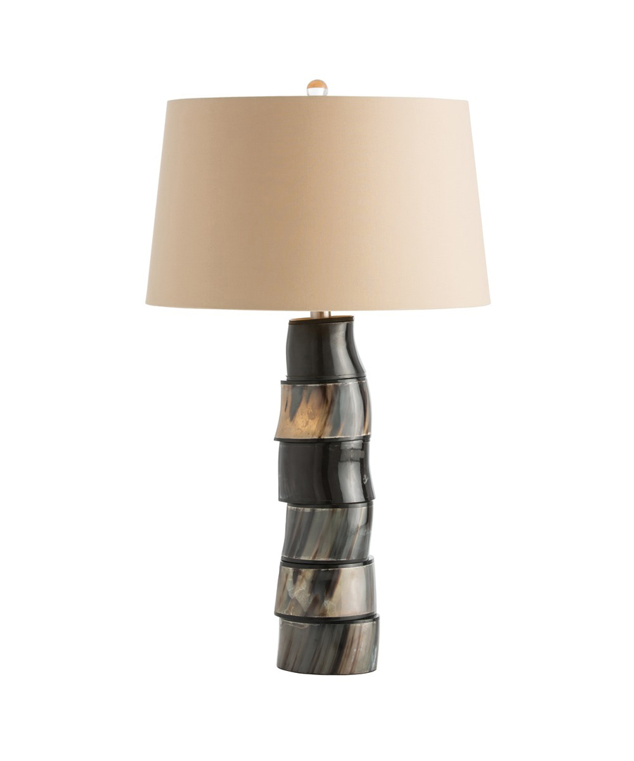 Horn Disc Table Lamp
