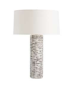 Ivory Glazed Table Lamp