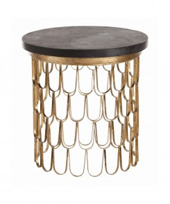 Scalloped_Goldleaf_Side_Table