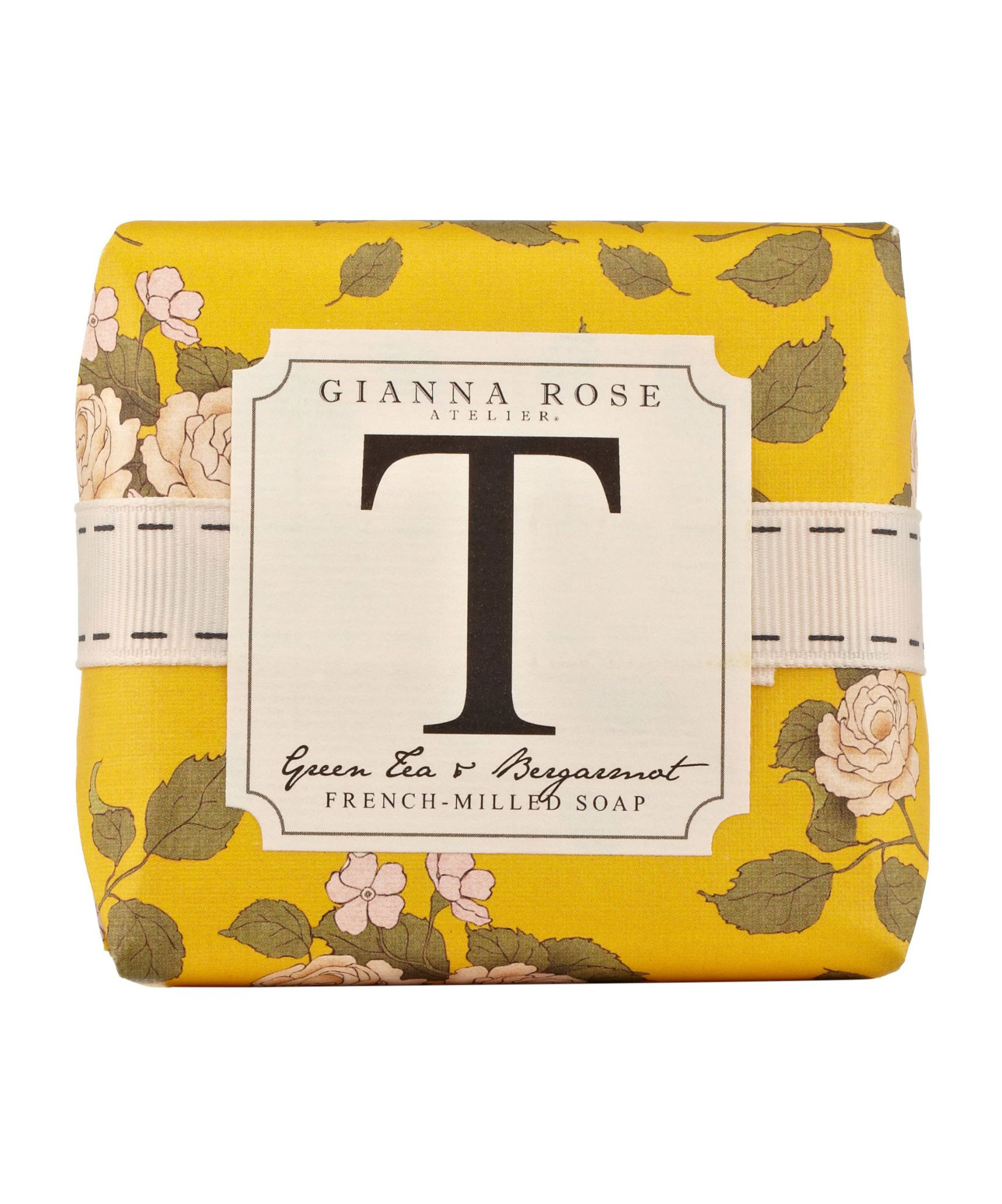 Letter T Monogram Bar Soap