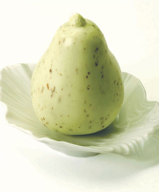 Pear Soap With Dish