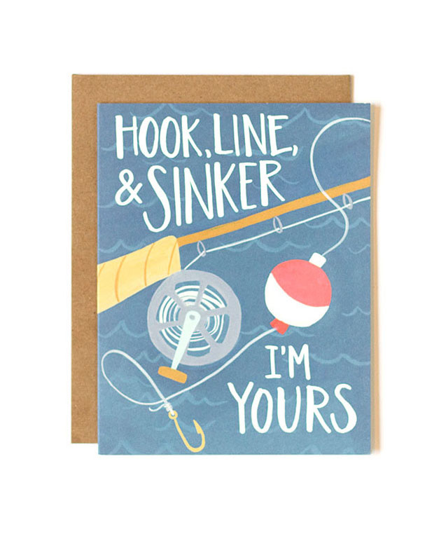 Hook Line and Sinker Card