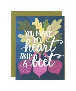 Skip a Beet Love Card