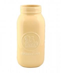 Butter Yellow Mason Jar