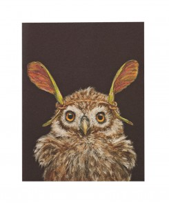 Baby Owl Thank You Card