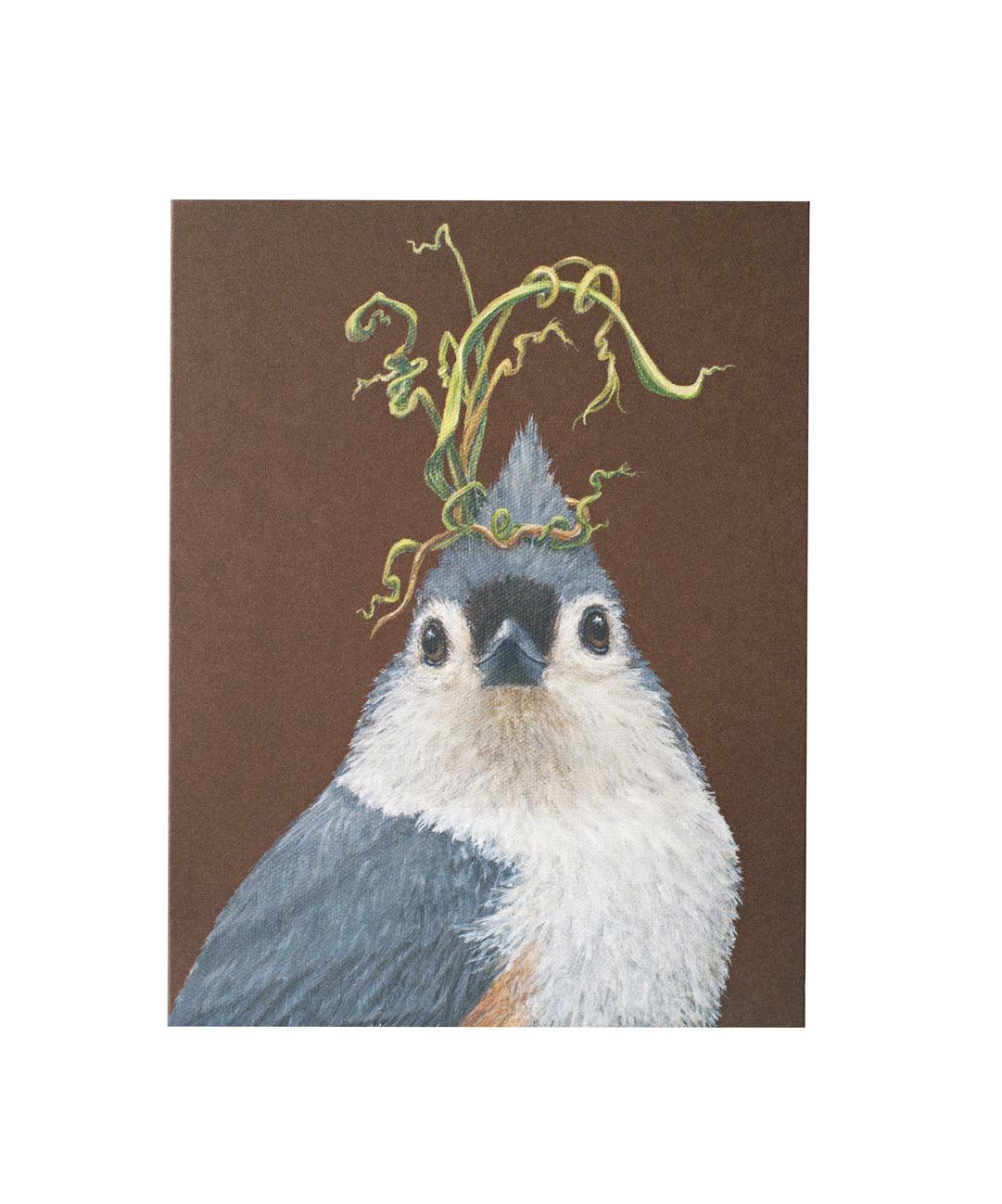 Tufted Titmouse Card