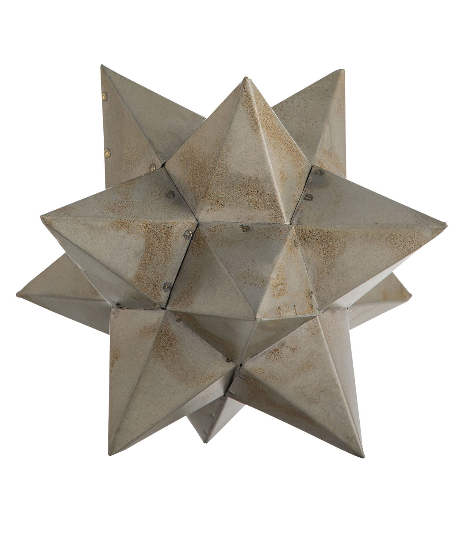 Zinc Star Sculpture