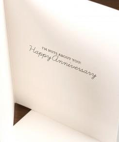 Chipmunk Anniversary Card