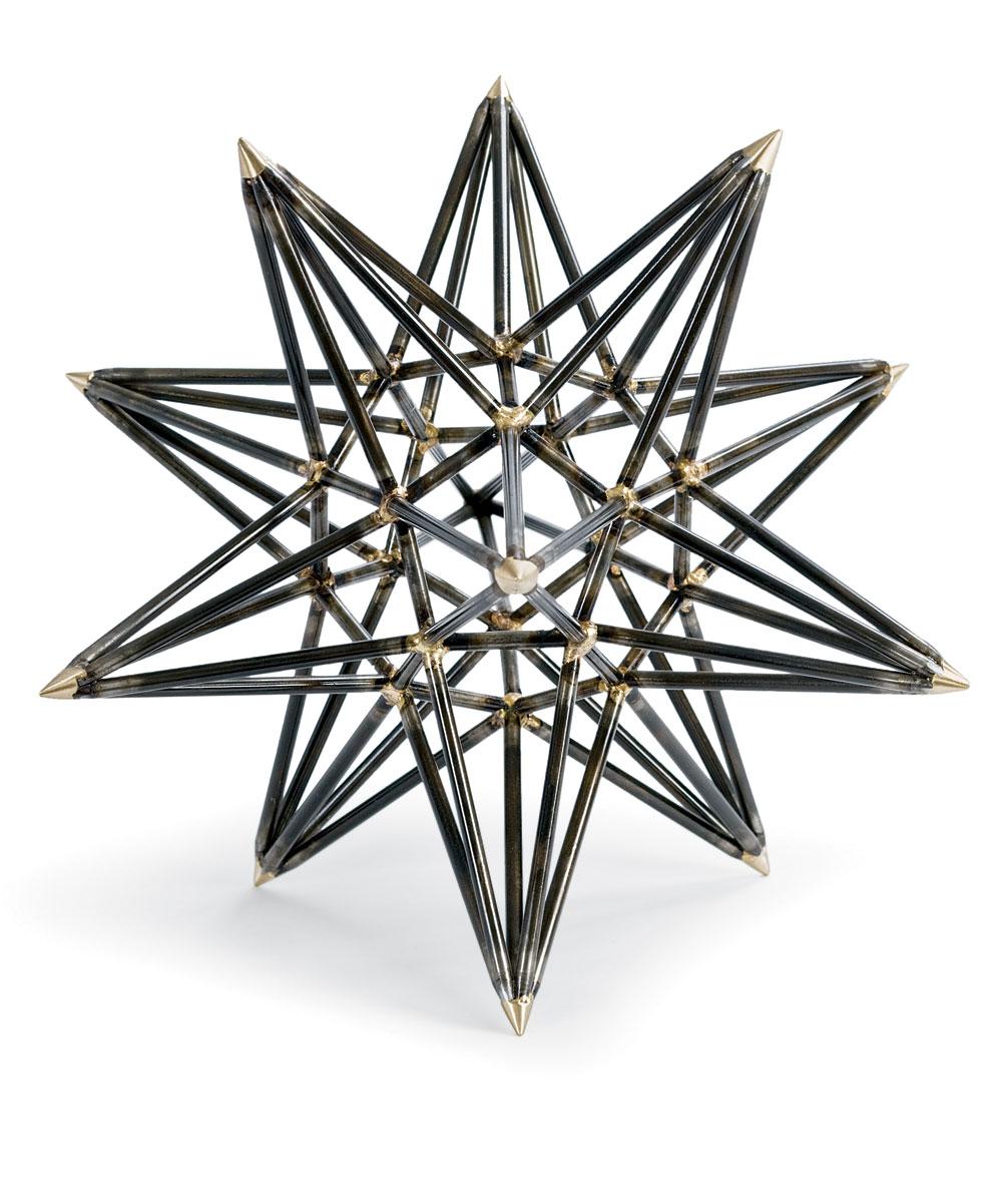 Metal Star Sculpture