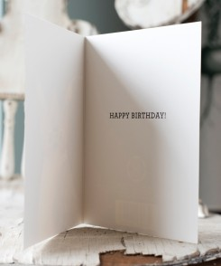 Tufted Titmouse Birthday Card