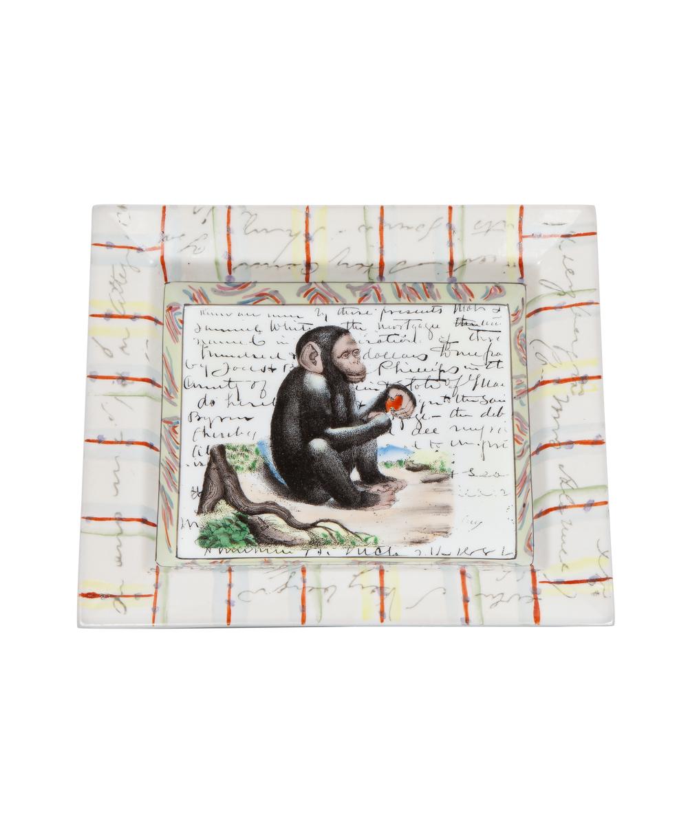 John Derian Monkey Tray