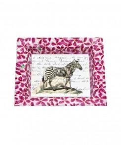 John Derian Zebra Tray
