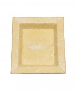 Yellow Faux Shagreen Tray