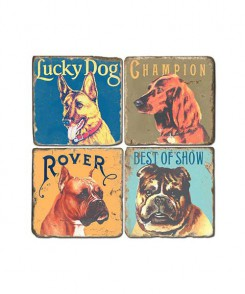Show Dogs Coaster Set