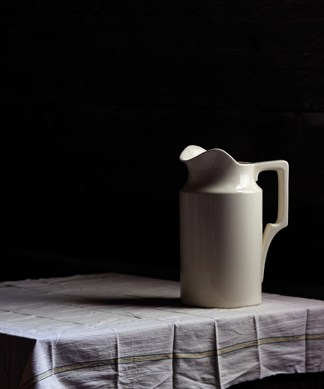 Still Like Stoneware Pitcher