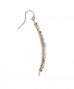Labradorite Bar Earrings