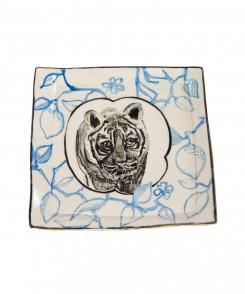 Artisan Tiger Plate