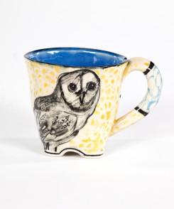 Artisan Owl Mug