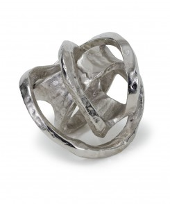 Metal Knot Sculpture