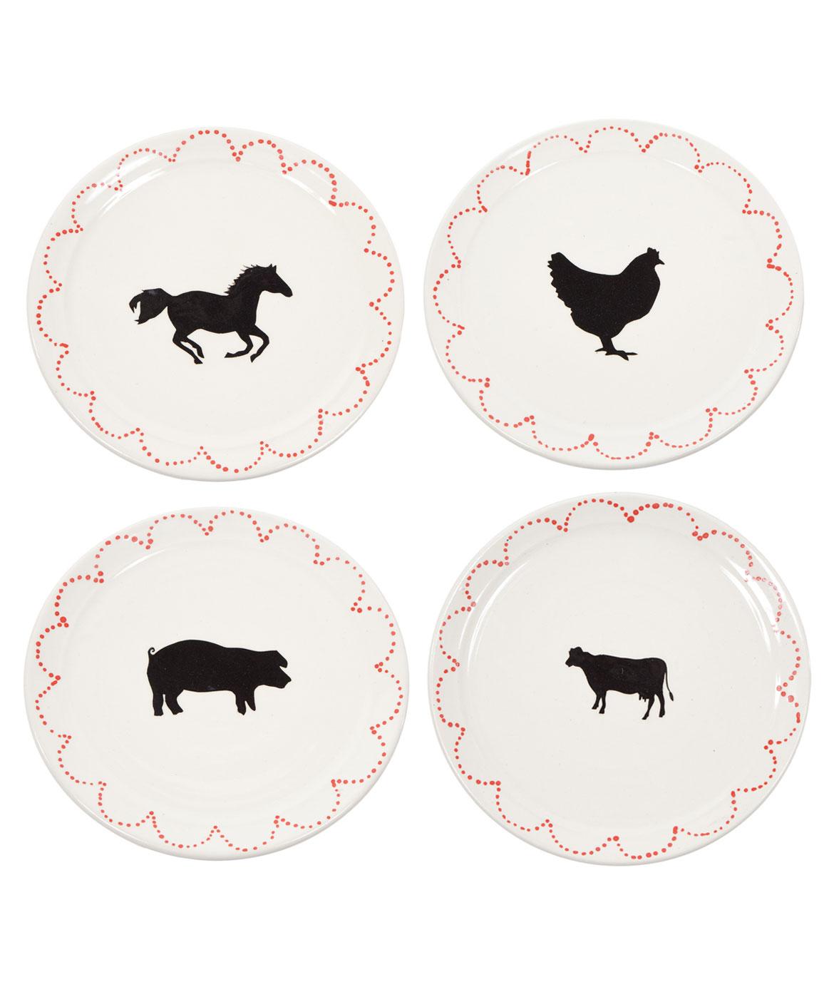 Horse Dinner Plate