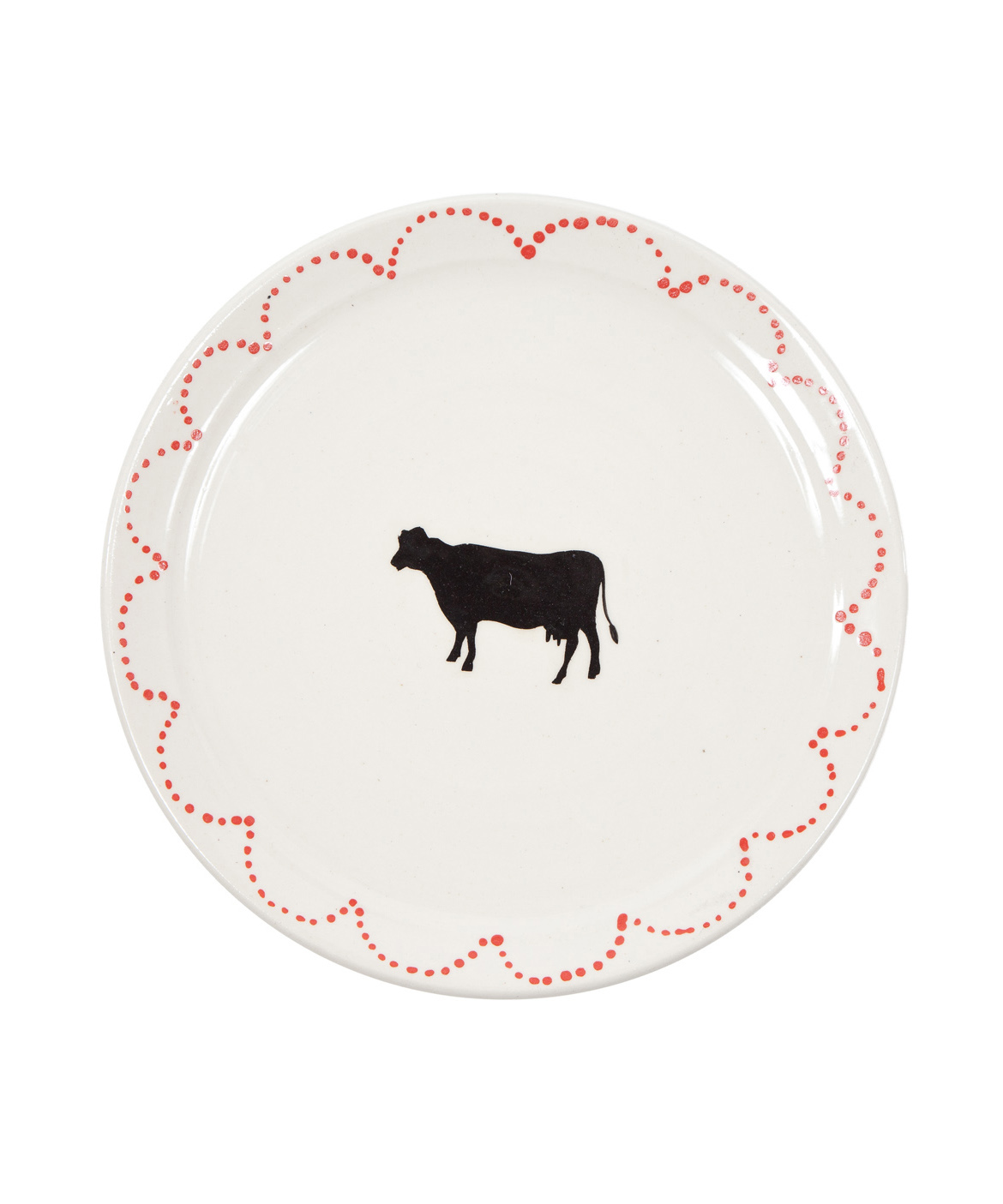Cow Dinner Plate