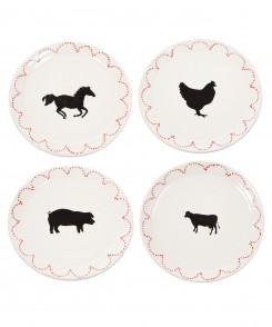 Chicken Dinner Plate