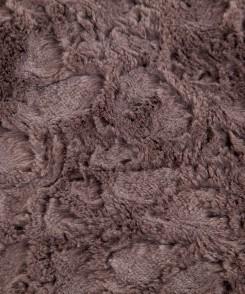 Slate Grey Faux Fur Throw