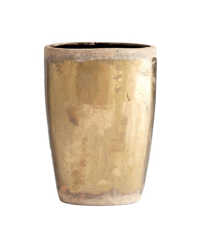 Rustic Goldleaf Vase