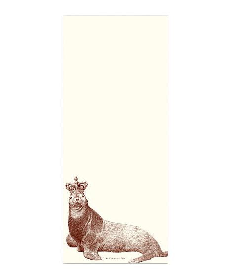 King Seal Notepad