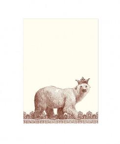Royal Polar Bear Notecards