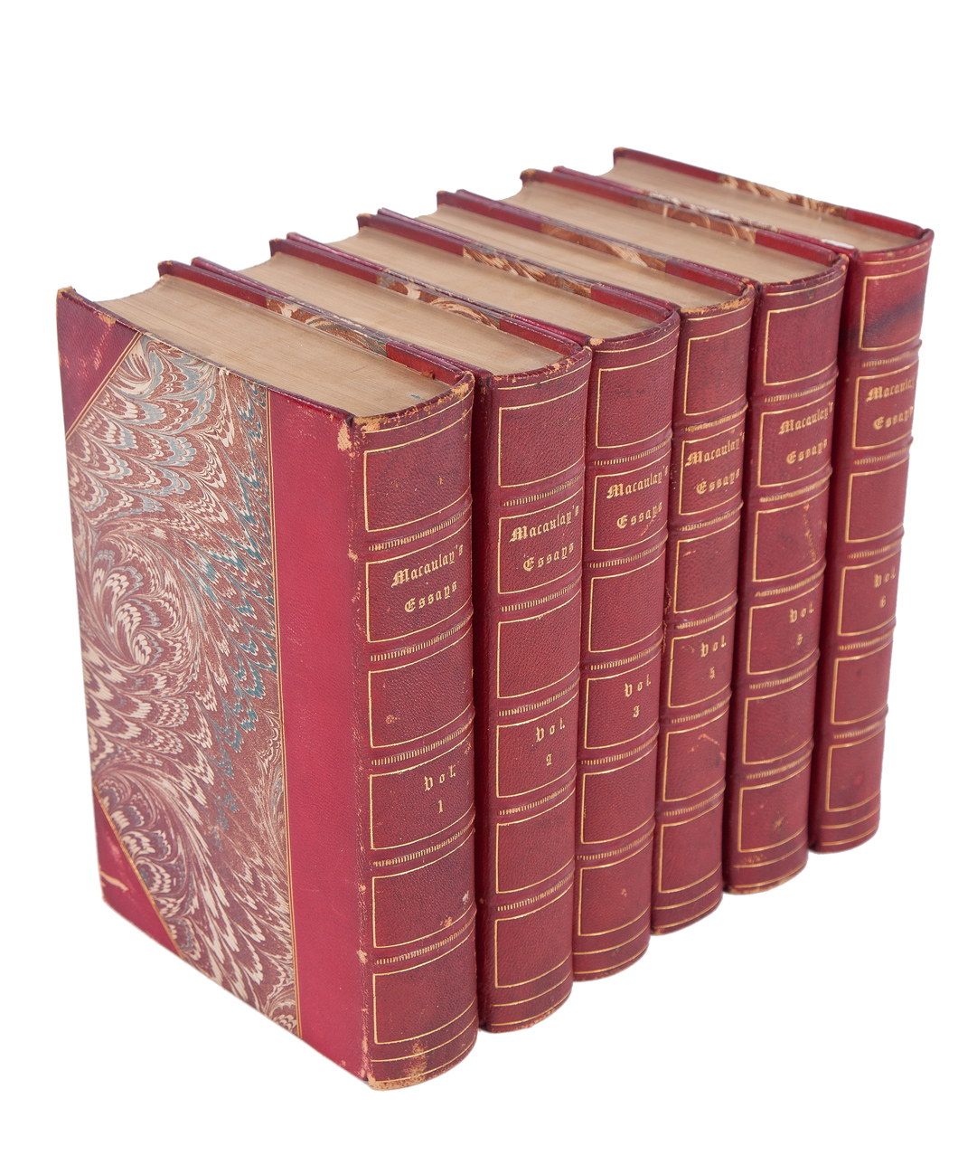 volumes of essays by macaulay kurtz collection 6 volumes of essays by macaulay