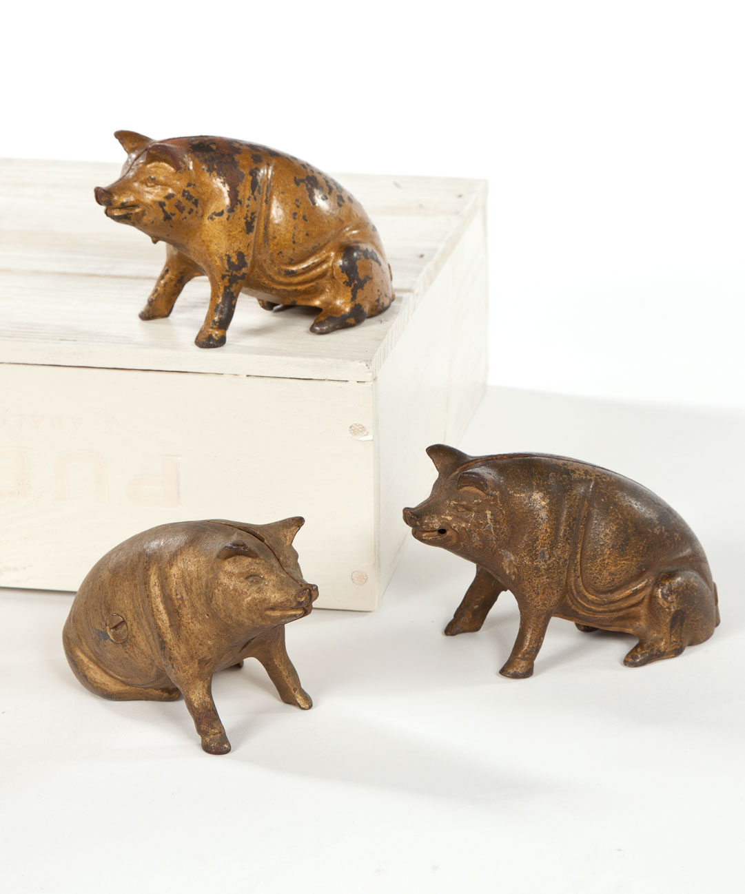 """3 Little Piggy Banks"""