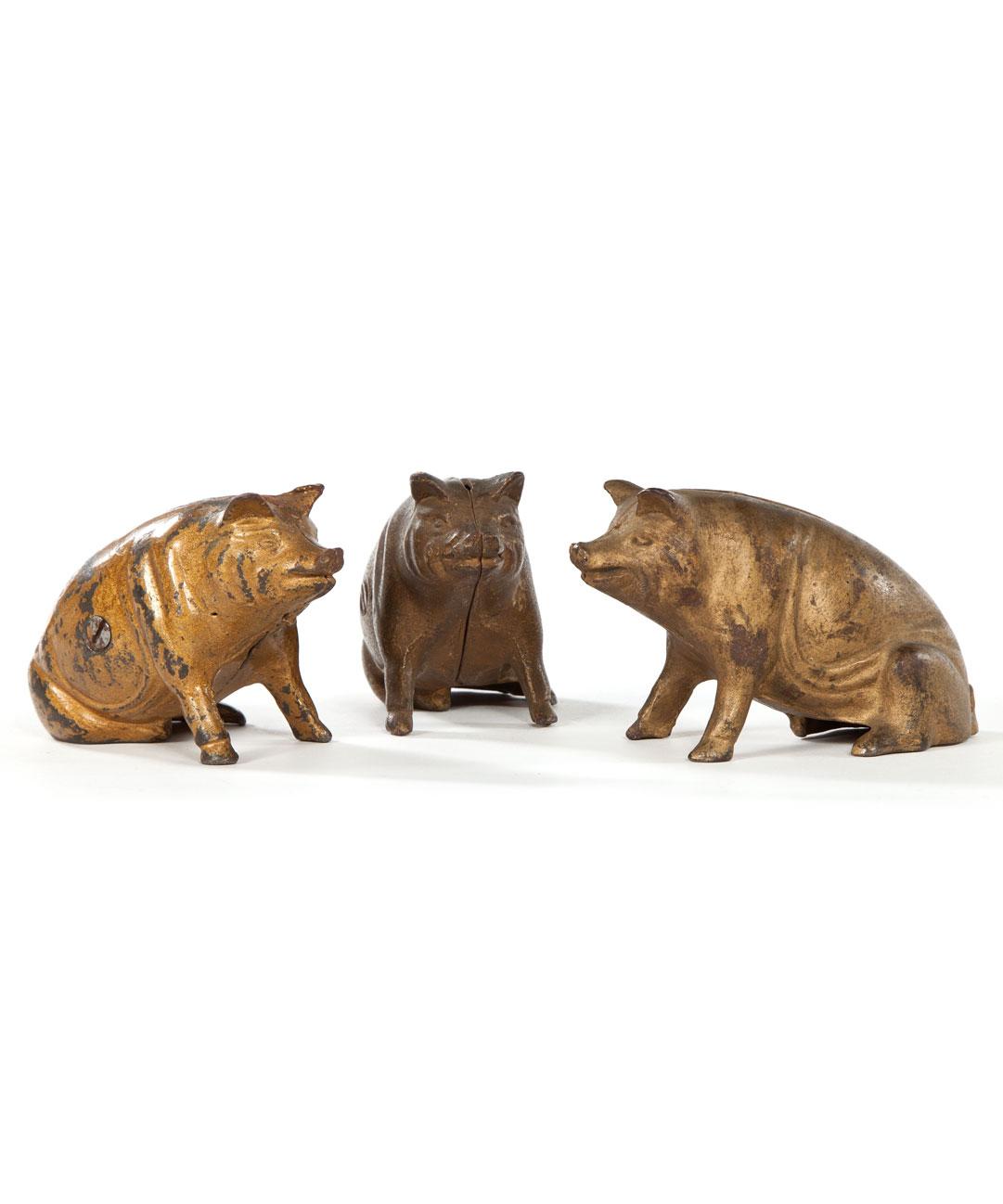 """""""3 Little Piggy Banks"""""""