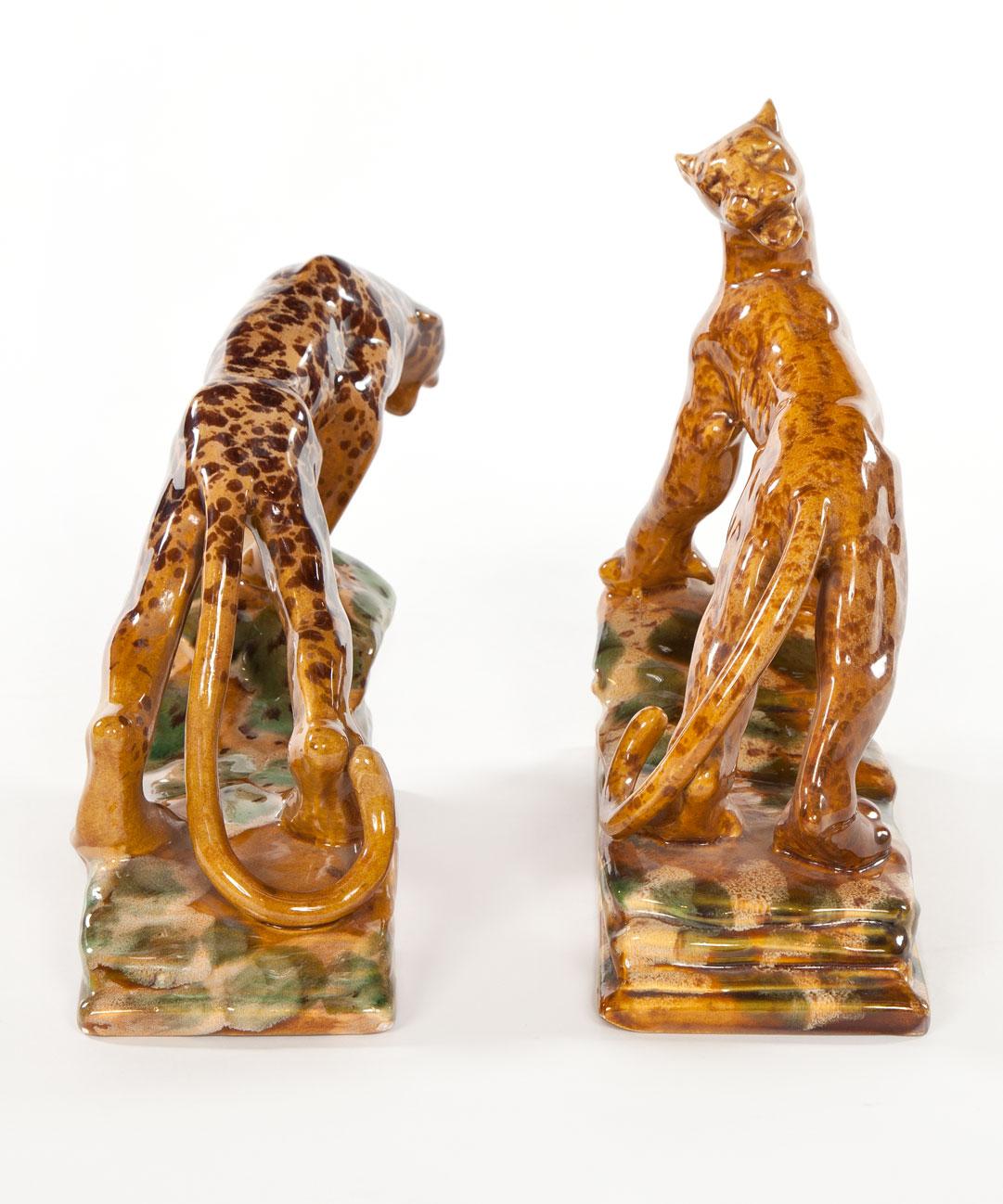 Art Deco Leopards