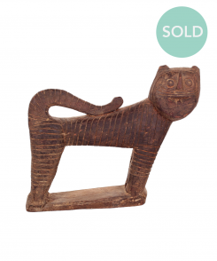 5893_Vintage_African_Cat_Sculpture_1