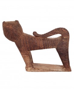 Vintage African Cat Sculpture