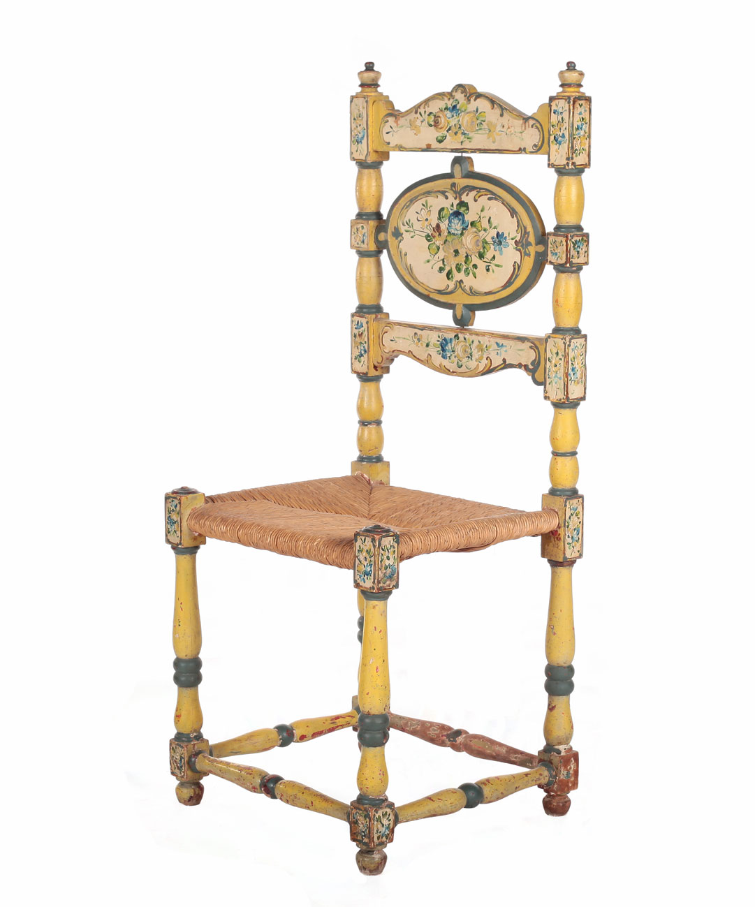 Antique Painted Chairs
