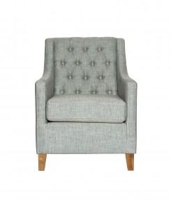 Buton Tufted Club Chair