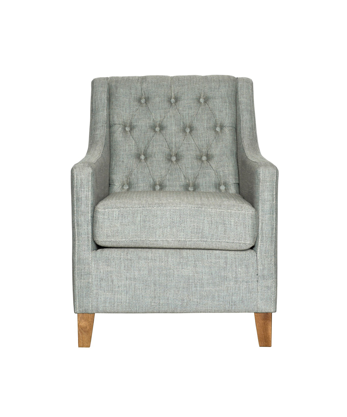 Buton Tufted Club Chair