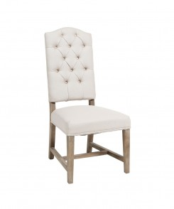 Button Tufrted Side Chair