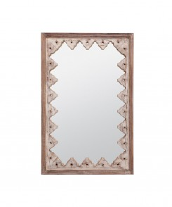 Jayden Wooden Mirror