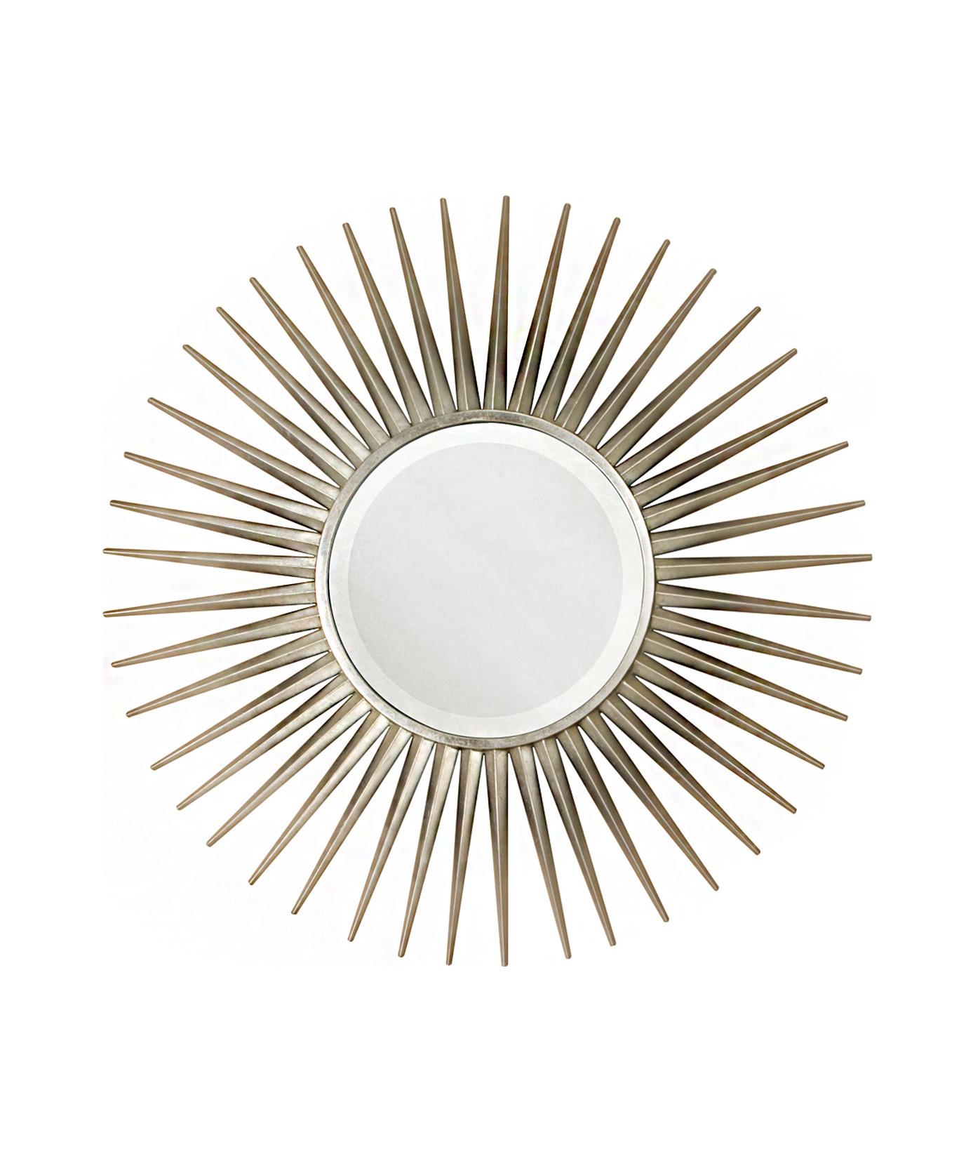 Keegan Silver Mirror