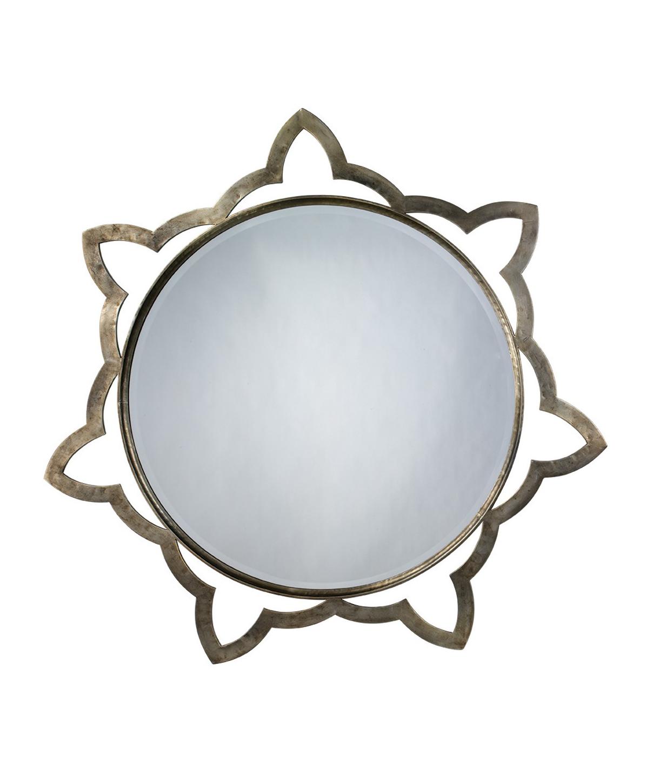 Luca Silver Mirror