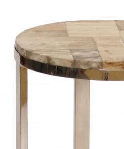 Petrified Wood Drink Table