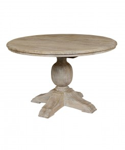 Round_Mango Wood_Dining_Table