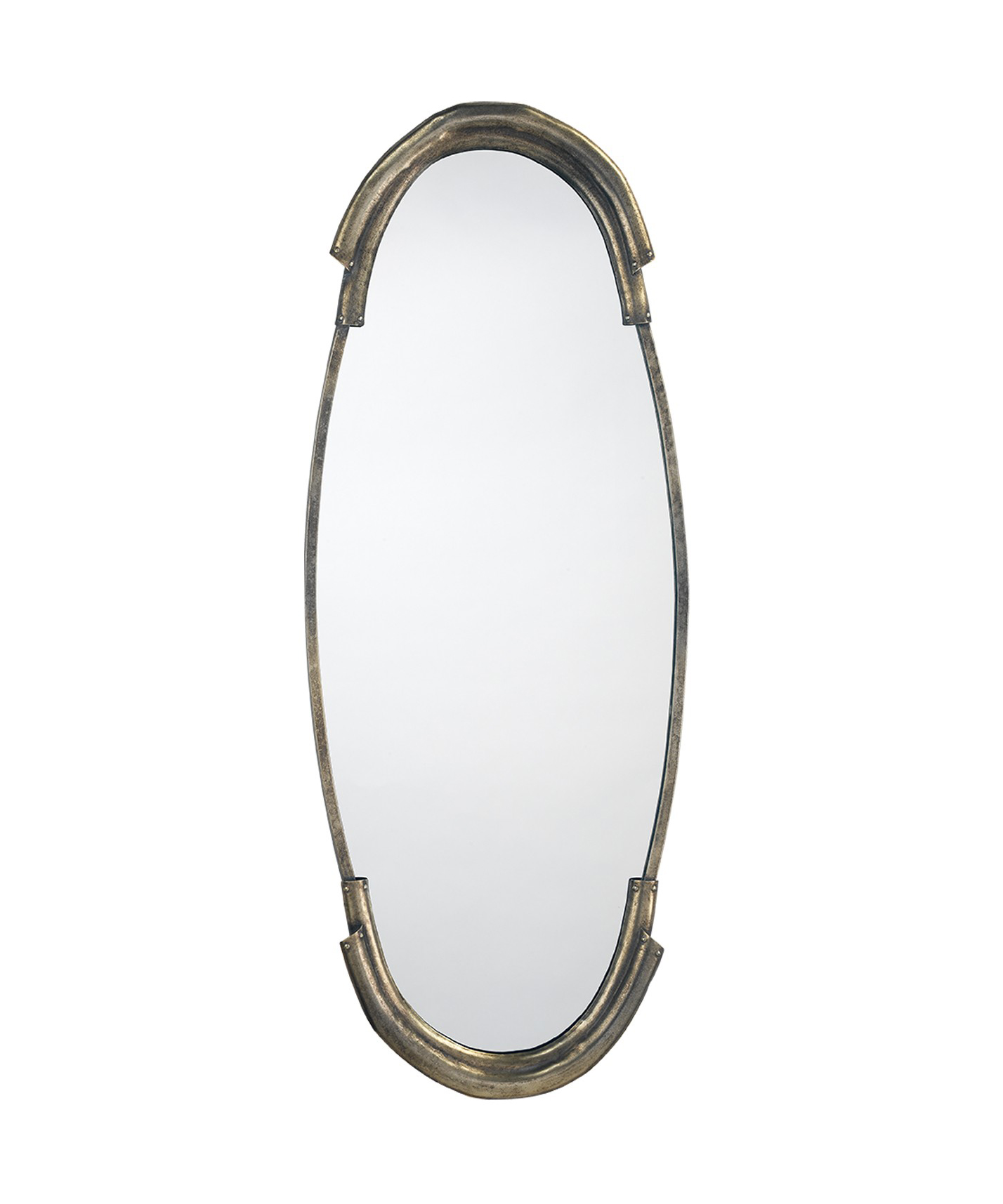 Toby Antique Silver Mirror