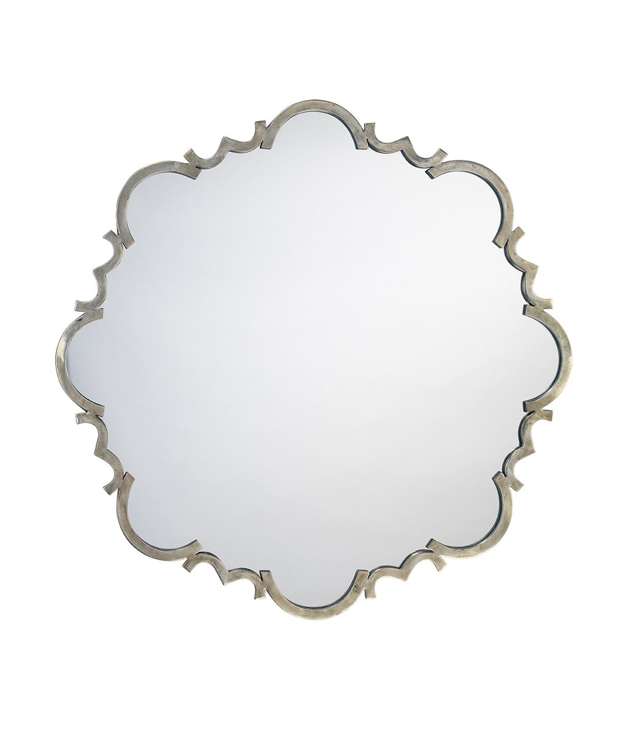 Troy Antique Silver Mirror