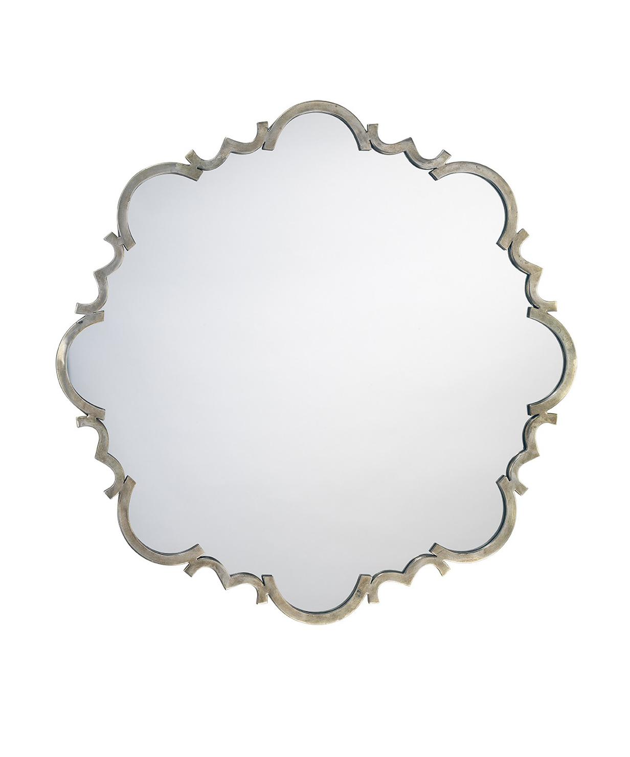 Troy Antique Silver Mirror