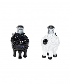 Black and White Sheep Shakers