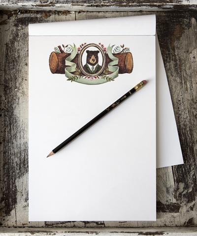 Mr Woodward Notepad